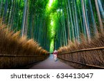 Small photo of Bamboo grove in Kyoto
