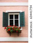 Beautiful Window With Flower...
