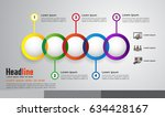 steps infographics  business... | Shutterstock .eps vector #634428167