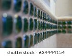 closeup of strip of decorative...   Shutterstock . vector #634444154