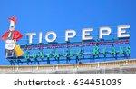 madrid  spain   september 06 ... | Shutterstock . vector #634451039