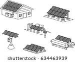 little isometric model for... | Shutterstock .eps vector #634463939
