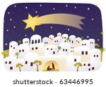 the mysterious event under the... | Shutterstock .eps vector #63446995