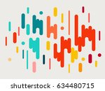 colorful modern style abstract... | Shutterstock .eps vector #634480715