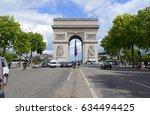 paris  france circa may 2015....   Shutterstock . vector #634494425