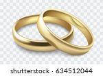Vector Gold Wedding Rings...