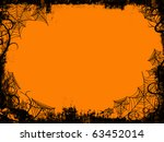 halloween frame | Shutterstock . vector #63452014