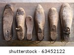 Rustic Wooden Shoe Lasts On...