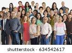 group of diversity people... | Shutterstock . vector #634542617