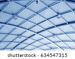 steel structure roof | Shutterstock . vector #634547315
