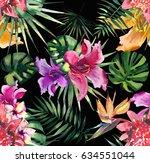 beautiful bright lovely... | Shutterstock . vector #634551044