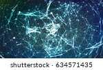 connection structure. point and ...   Shutterstock .eps vector #634571435