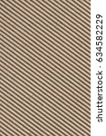 recycled brown corrugated... | Shutterstock . vector #634582229