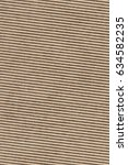 recycled brown corrugated... | Shutterstock . vector #634582235