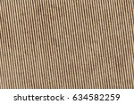 recycled brown corrugated... | Shutterstock . vector #634582259