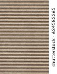 recycled brown corrugated... | Shutterstock . vector #634582265