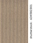 recycled brown corrugated... | Shutterstock . vector #634582301