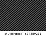 recycled black corrugated... | Shutterstock . vector #634589291