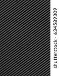 recycled black corrugated... | Shutterstock . vector #634589309