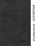 recycled black corrugated... | Shutterstock . vector #634589369