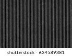 recycled black corrugated... | Shutterstock . vector #634589381