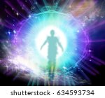 life after death and cosmic... | Shutterstock . vector #634593734