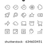 speed ui pixel perfect well... | Shutterstock .eps vector #634603451