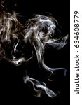 smoke art and smoke pictures in ... | Shutterstock . vector #634608779