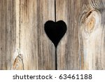 Detail Of A Wooden Door With...