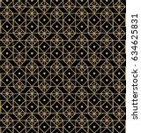 elegant geometric pattern ... | Shutterstock .eps vector #634625831