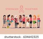beautiful vector concept flat... | Shutterstock .eps vector #634642325