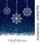 Blue Snowflake Christmas...