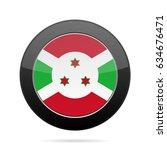 national flag of burundi. shiny ...   Shutterstock .eps vector #634676471