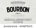 font.alphabet.script.typeface... | Shutterstock .eps vector #634693415