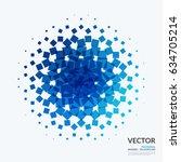 business vector design elements ... | Shutterstock .eps vector #634705214