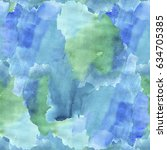 watercolor seamless background. ... | Shutterstock . vector #634705385