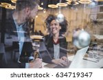 multi racial business man and...   Shutterstock . vector #634719347