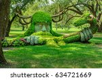 montreal botanical garden | Shutterstock . vector #634721669