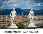 florence   may 20  statue in... | Shutterstock . vector #634732355