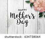 mother's day graphic   Shutterstock . vector #634738064