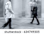 business people walking in the... | Shutterstock . vector #634749305