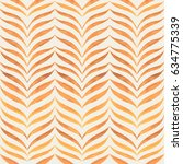 abstract hand drawn pattern.... | Shutterstock .eps vector #634775339