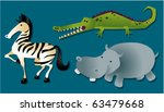 safari animals | Shutterstock .eps vector #63479668