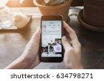 chiang mai  thailand   may 6 ... | Shutterstock . vector #634798271
