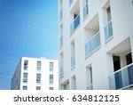 modern  luxury apartment...   Shutterstock . vector #634812125