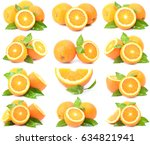 orange fruit | Shutterstock . vector #634821941