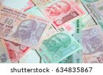 collection of the indian... | Shutterstock . vector #634835867