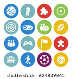 game icons set | Shutterstock .eps vector #634839845