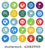 map icons set | Shutterstock .eps vector #634839905