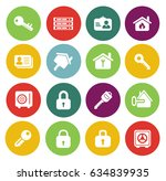 security icons    Shutterstock .eps vector #634839935